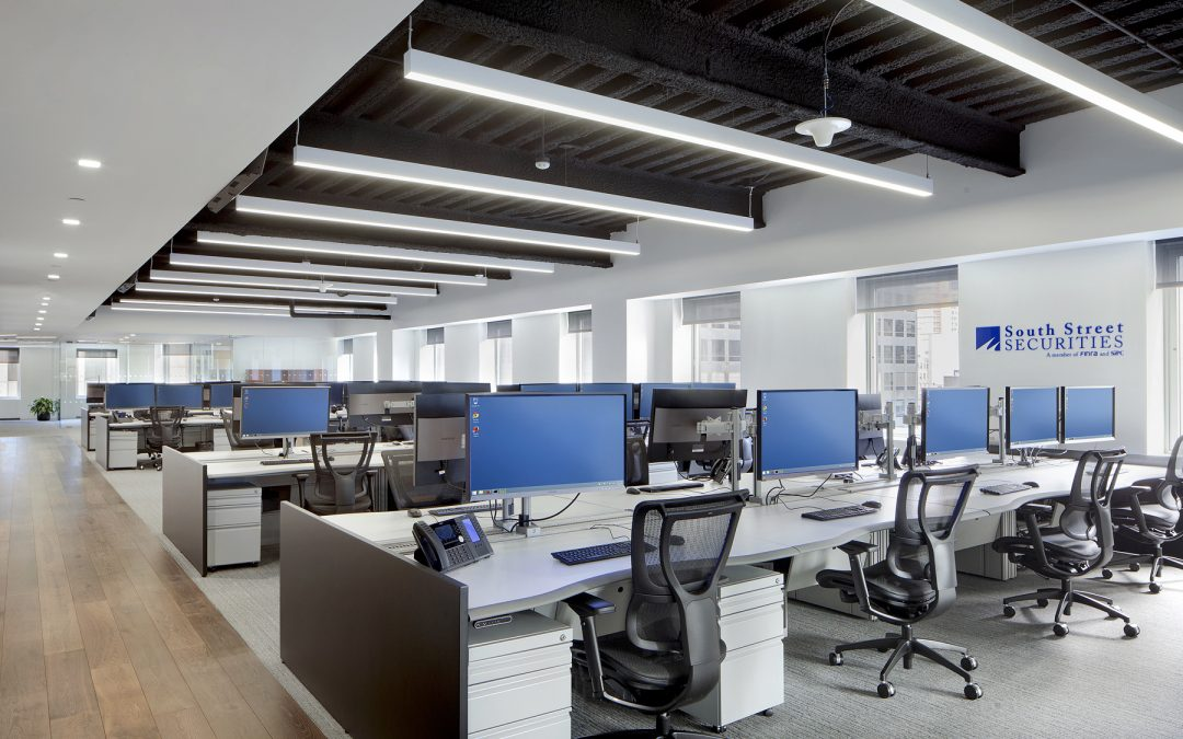New Build-To-Suit Office for Securities and Trading Firm